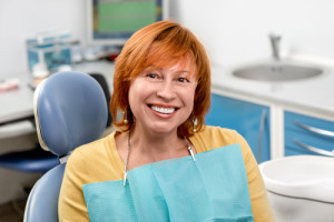 red-head-in-dental-chair