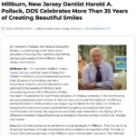Dr. Harold A. Pollack, a cosmetic and family dentist in Millburn, New Jersey, is celebrating more than 35 years of providing Beautiful Smiles.